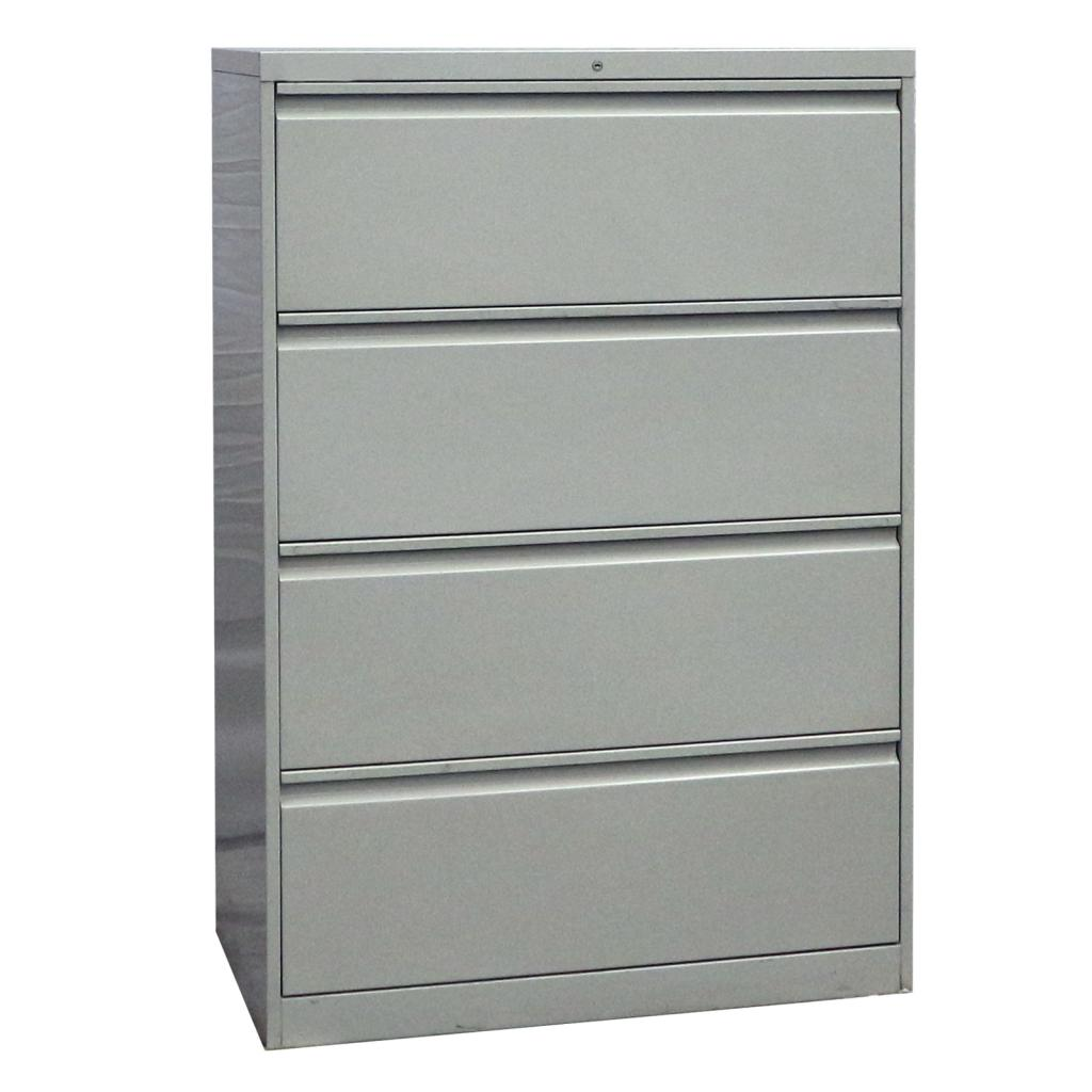 Steel Lateral File Cabinet (Goose Type Handle) 4 DOORS