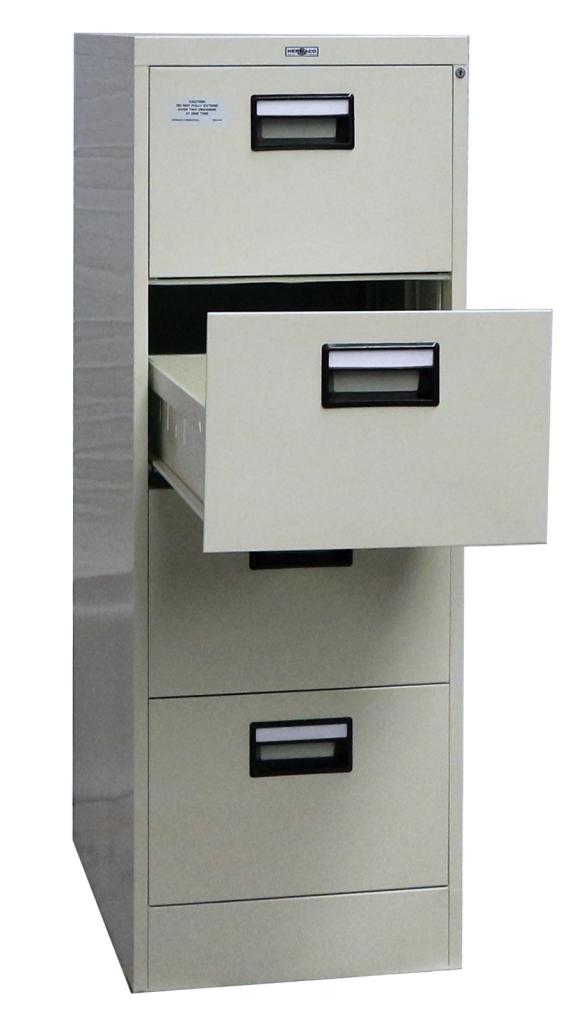 Steel Filing Cabinet Commercial Type 4 Doors Hermaco