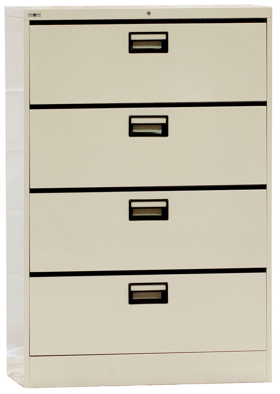 Steel Lateral File Cabinet 4 Doors Hermaco Commercial Inc